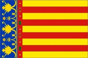 valencia-bandera