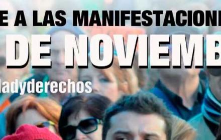 Manifestación del 29 de noviembre