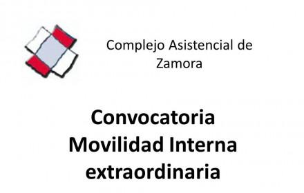Movilidad extraordinaria Complejo Asistencial de Zamora