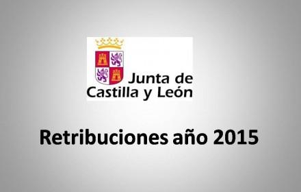 Retribuciones año 2015