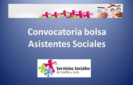 Convocatoria bolsa Asistentes Sociales