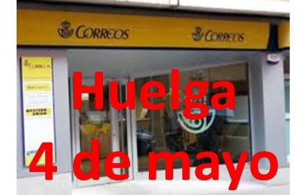 Huelga 4 mayo 2015
