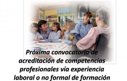 Próxima convocatoria de acreditación de competencias profesionales
