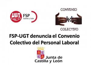 FSP-UGT denuncia el Convenio Colectivo del Personal Laboral