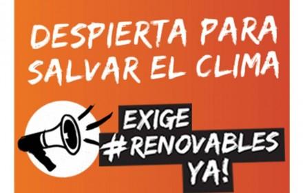 campaña renovables ya