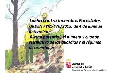 orden forestales guardias 2015