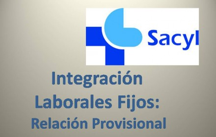 relacion provisional integracion laborales