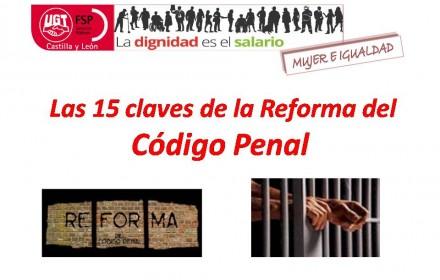 15 claves de la reforma del codigo penal