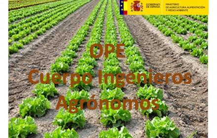 OPE ingenieros agronomos agricultura