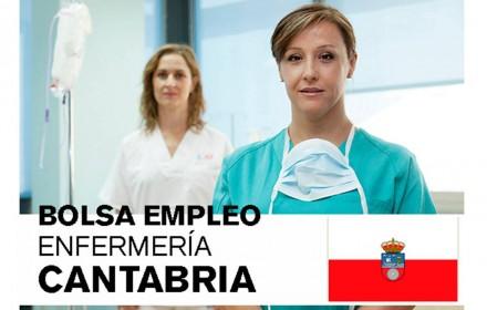 bolsa Cantabria enfermería