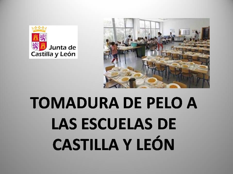 FeSP UGT Zamora – Tomadura de pelo a las Escuelas de Castilla y León