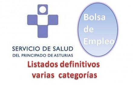bolsa asturias listado definitivo varias categorias