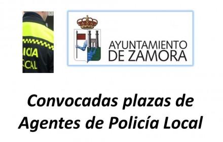 Convocadas plazas Agentes policia