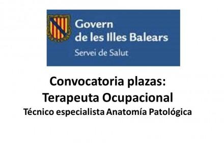 Ope Islas Baleares tcae y fisioterapeutas