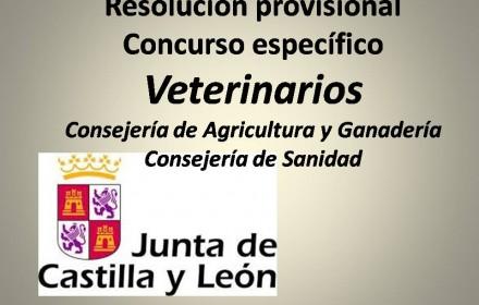 Resolución prov  Concurso específico Veterinarios  agricultura 2015
