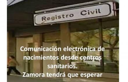 Comunicación electrónica de nacimientos desde centros sanitarios