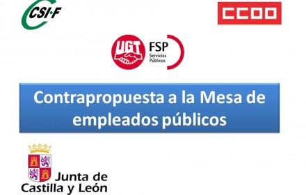 Contrapropuesta a la Mesa de empleados públicos oct 2015