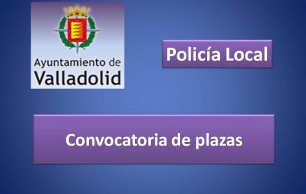Convocatoria plazas ayto valladolid policia 2015