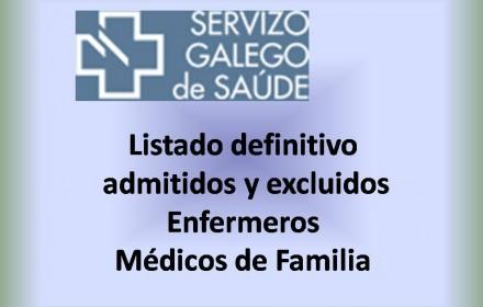 Listado definitivo enfermeros y medicos de familia