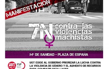 7N contra las violencias machistas