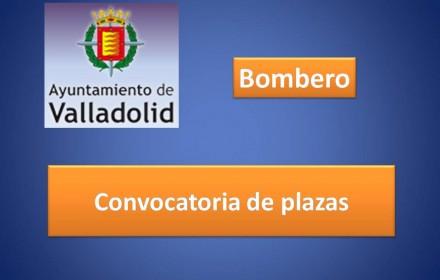 Convocatoria plazas ayto valladolid bombero 2015