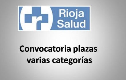 Convocatoria plazas ope rioja