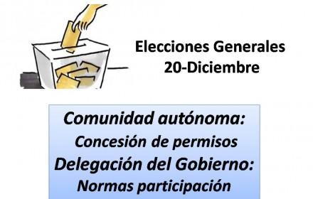 Elecciones Generales age y autoniomia 20 dic