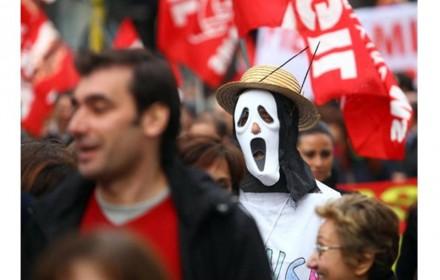 solidaridad con sindicatos italianos