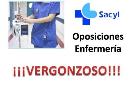 suspension examen enfermeria