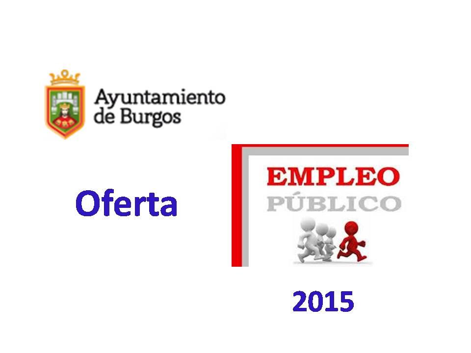 Fesp ugt zamora ayuntamiento de burgos oferta de empleo for Oficina de empleo burgos