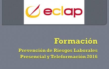 eclap Formación Prevencion riesgos laborales 2016