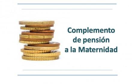 Complemento pension maternidad