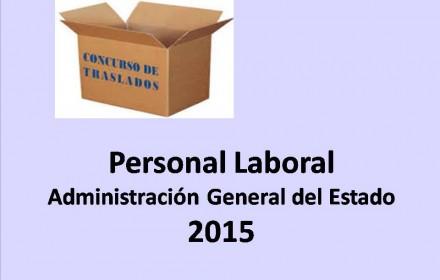 concurso traslados laborales 2015