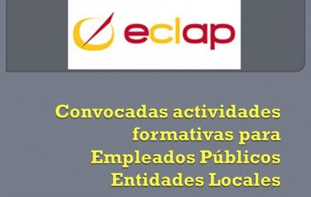 convocadas formacion entidades locales 2016 eclap