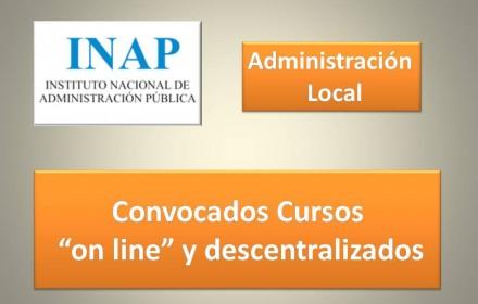 cursos on line descentralizados local inap 2016