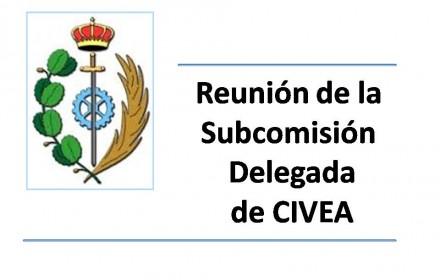 reunión de la Subcomisión Delegada de CIVEA