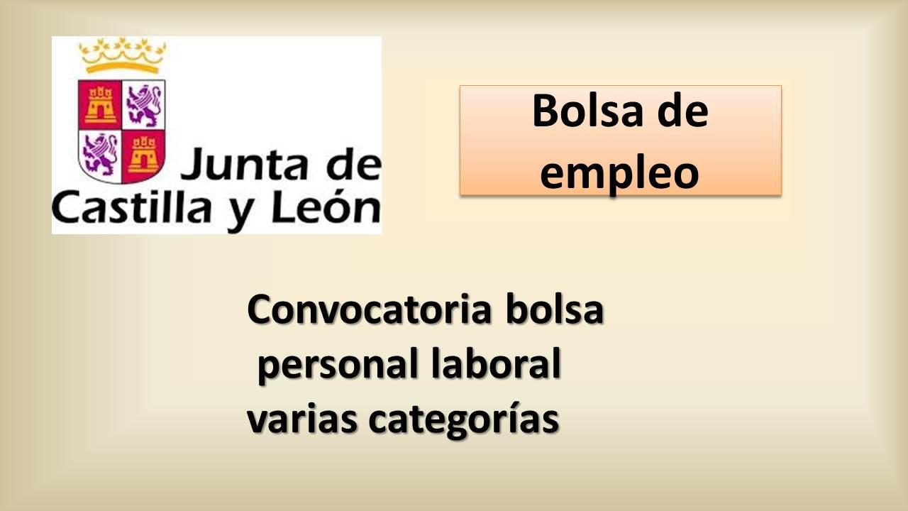 Fesp ugt zamora junta de castilla y le n convocatoria for Oficina empleo castilla y leon