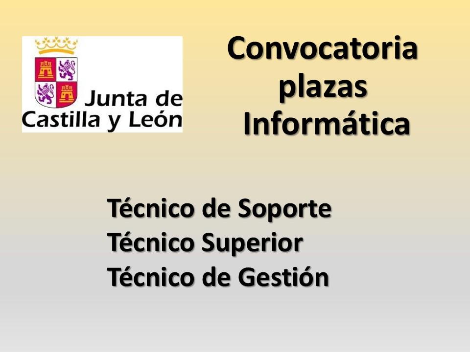 Fesp Ugt Zamora Junta Convocatoria Plazas Informatica
