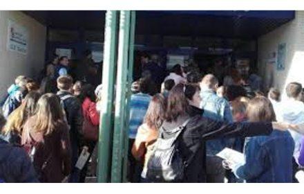 tramitación PA turno libre distribucción por Facultades y aulas