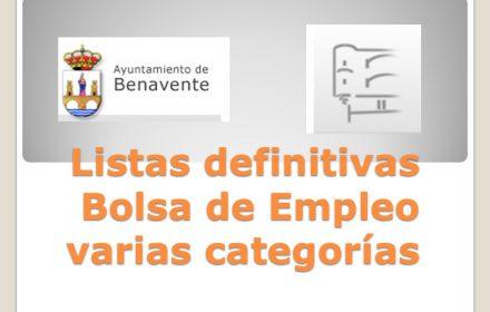 listas def Bolsa de Empleo nov 2015
