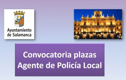 Convocatoria plazas policia 2016 ago