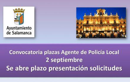 abierto plazo plazas policia 2016 sep