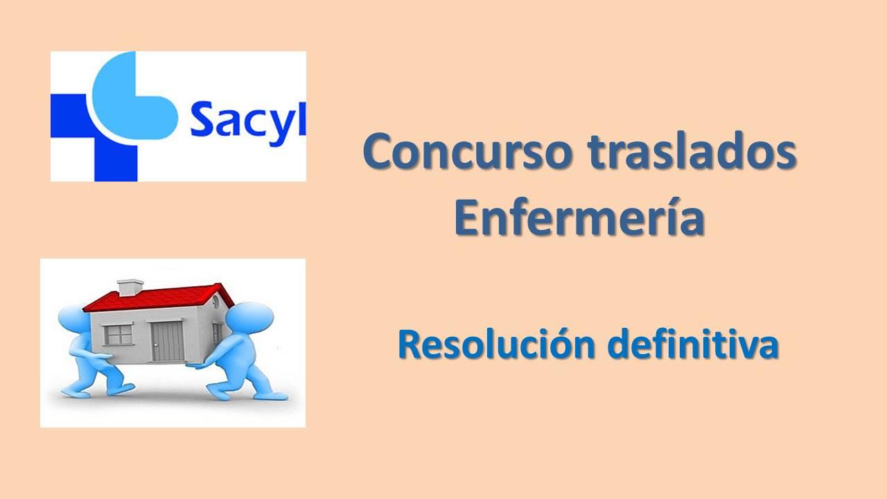 Fesp Ugt Zamora Sacyl Concurso Traslados Enfermer A