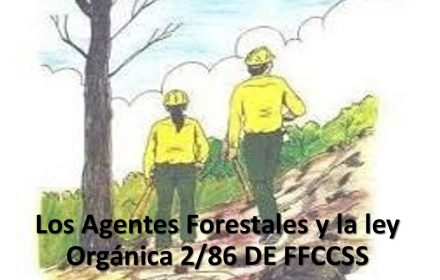 Agentes Forestales ley Orgánica 2-86 FFCCSS