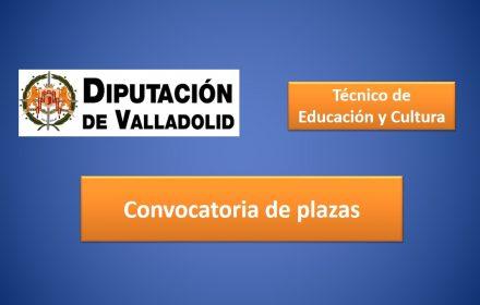 plazas diputacion valladolid tec educ y cultura feb-2017