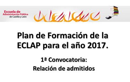 eclap admitidos 1 convocatoria 2017