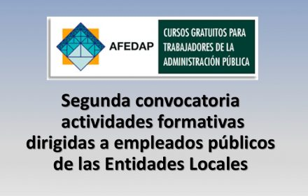 Segunda convocatoria afedap jun-2016