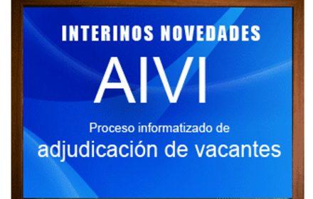 Interinos Enseñanza Proceso informatizado adjudicación vacantes