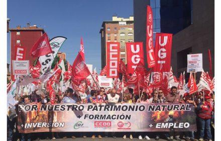 Manifestación defensa nuestro Patrimonio Natural