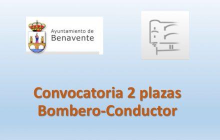 Convocatoria 2 plazas bombero jun-2017